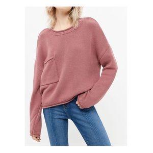 NWOT UO Leona Slouchy Pocket Sweater